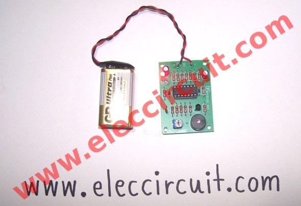 Complete Cricket Sound Generator circuit