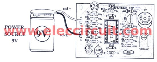 the components layout and wiring
