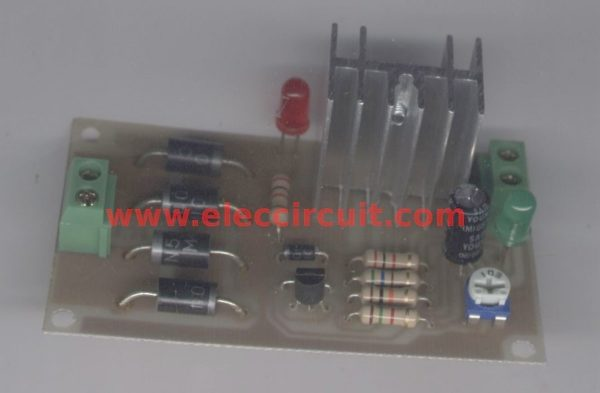 Complete assembly on PCB