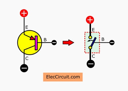 Blinking Light Circuit Diagram | Led Flashers Circuits And Projects Using Transistor Eleccircuit Com