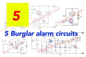 5 Burglar alarm circuits