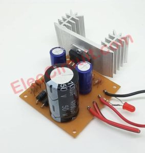 12V to 24V step up DC converter using TDA2004