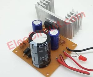 Simple 12V to 24V step up converter circuit using TDA2004