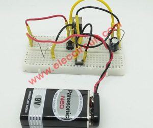 Simple time Delay Circuit using MOSFET