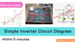 Simple Transistor Inverter Circuit Diagram