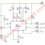 Mini function generator circuit using ICL8038