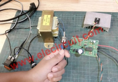 Selector switch to choose, high or low voltage rage
