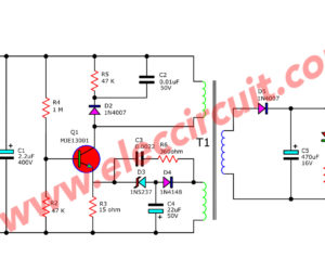 Battery & Charger Archives | Electronics Projects Circuits