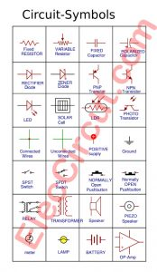 Common Electronic Circuit symbols