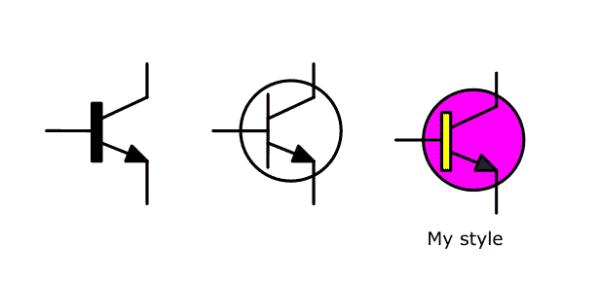 Transistor NPN Circuit Symbol