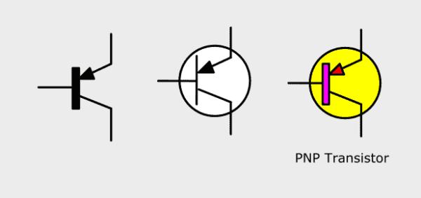 Transistor PNP Circuit Symbol