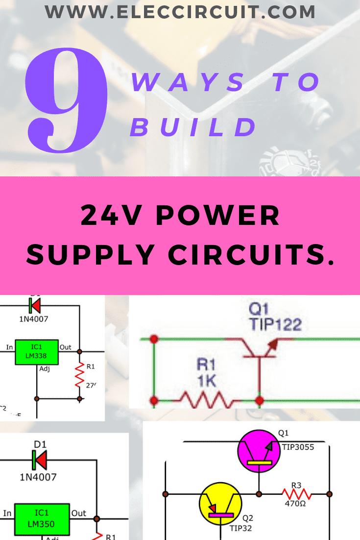 24V power supply circuits