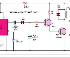 Automatic water pump controller using 555 timer