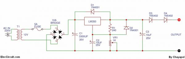 0 12v variable power supply at 3a