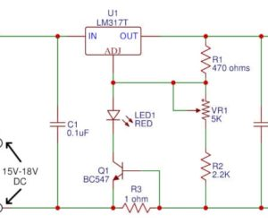 Gel cell battery charger circuit
