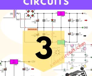 Dual 15V Power Supply Schematic With PCB,  +15V -15V 1A