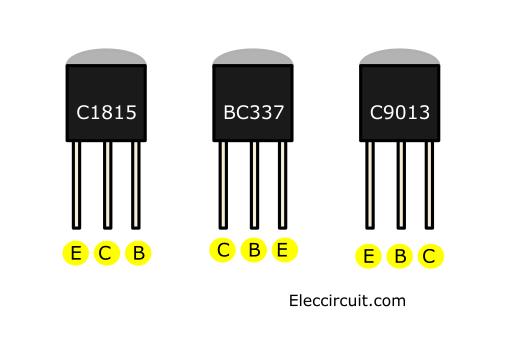 compare position legs transistors mismatch