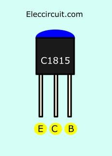 C1815 pinout on high volt shock circuit