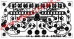 Components layout KA2284 level indicator