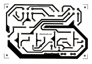 Stereo headset bass treble control circuit PCB layout