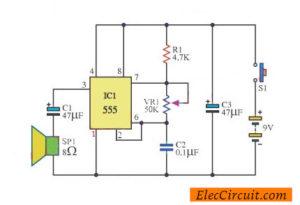 Morse code generator circuit