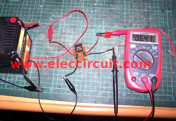 12v to 6v step down circuit