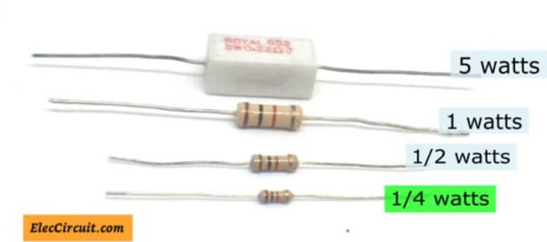 The popularly used Resistor