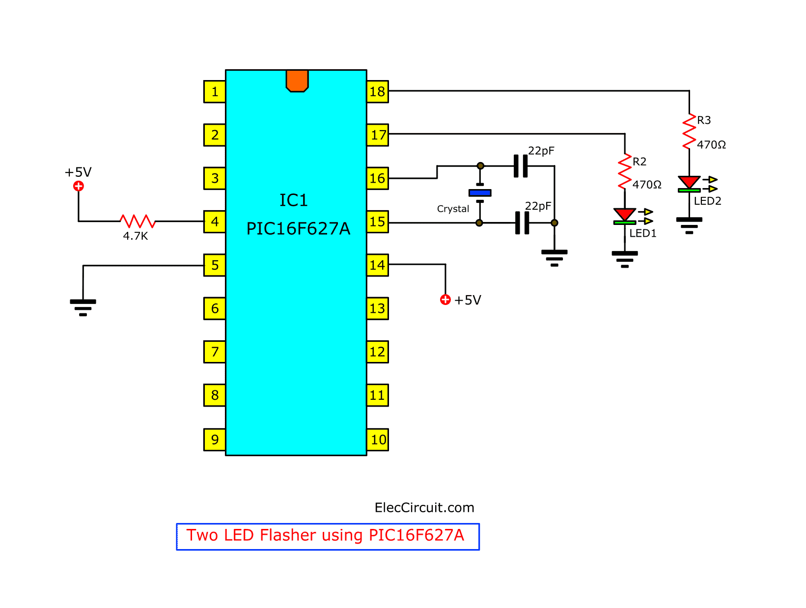 The Code Below Should Work With This Circuit