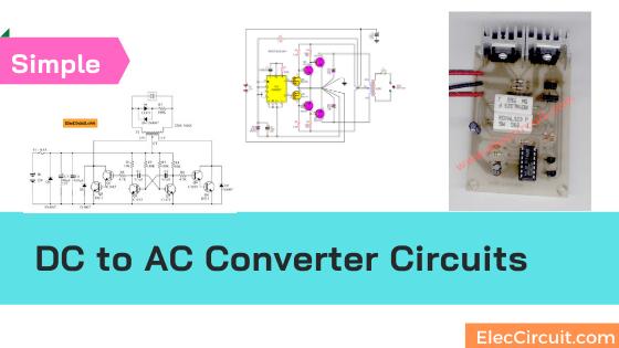 DC to AC Converter circuit