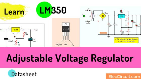 LM350 Voltage regulator datasheet