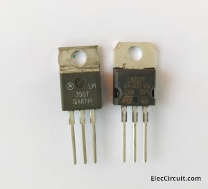 LM350T VS LM317T