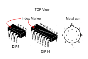 Most common IC and counting pins