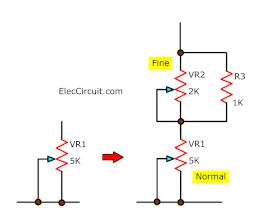 adding fine adjust voltage