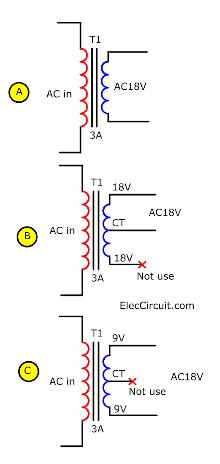 18V transformer
