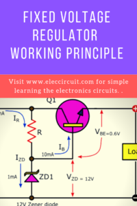 Fixed voltage regulator working principle