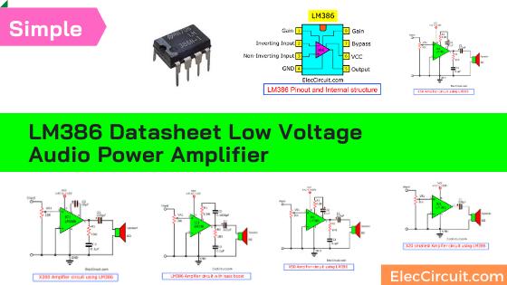 LM386 Datasheet Low voltage audio power amplifier