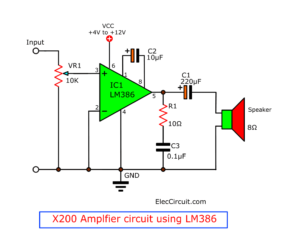 How to increase gain of LM386