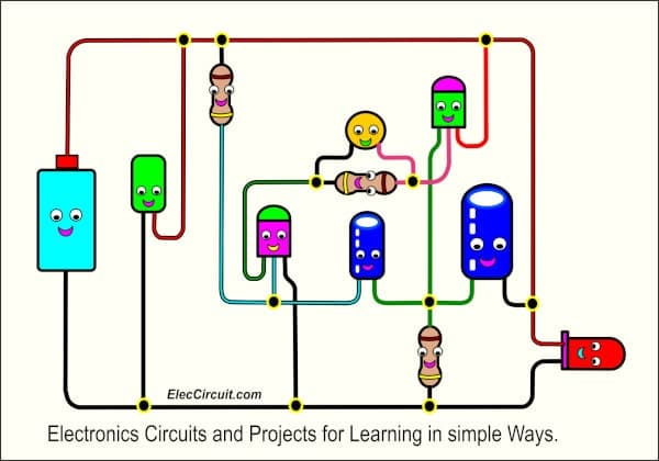 Electronics circuits Projects learning simple ways