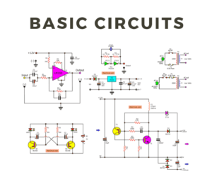 99+ Basic Electronic Circuits for you