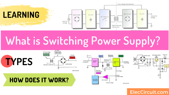 What is switching power supply vs linear, how does it work?
