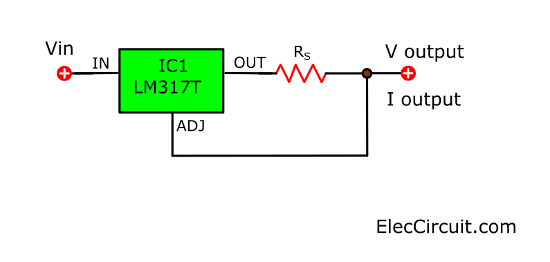 simple LM317 constant current