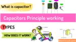 Capacitor Principle working