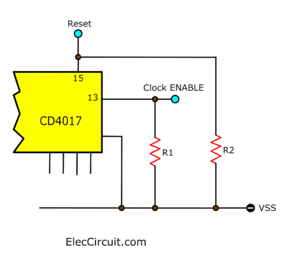 Resistor make stability control pins