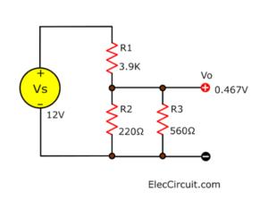 Voltage Divider 3 Resistors