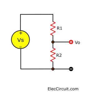 basic voltage divider circuit