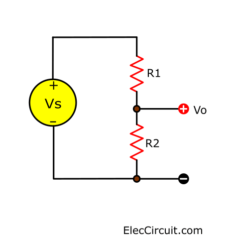 basic voltage divider circuit