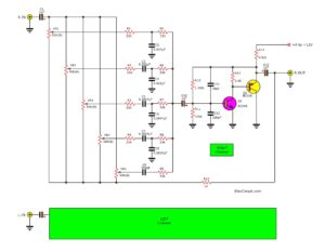 Transistor equalizer circuit diagram
