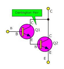Darlington Transistor pair