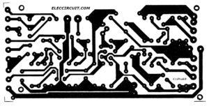 PCB of 30W RMS OCL Amplifier