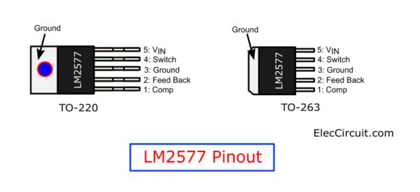 LM2577 pinout